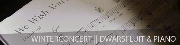 Winterconcert - Dwarsfluit & piano